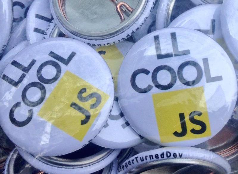 LL Cool JS buttons from @RappersTurnedDevs
